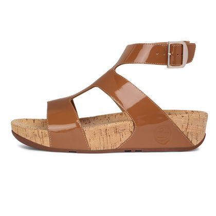 FITFLOP ARENA PATENT TAN