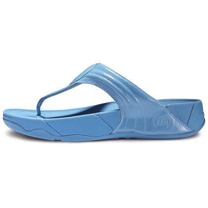 FITFLOP WALKSTAR 3 PATENT SPORTY BLUE