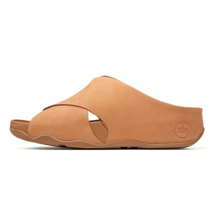 FITFLOP SHUV SLIDE TAN