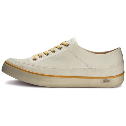 FITFLOP SUPER T SNEAKER LEATHER URBAN WHITE