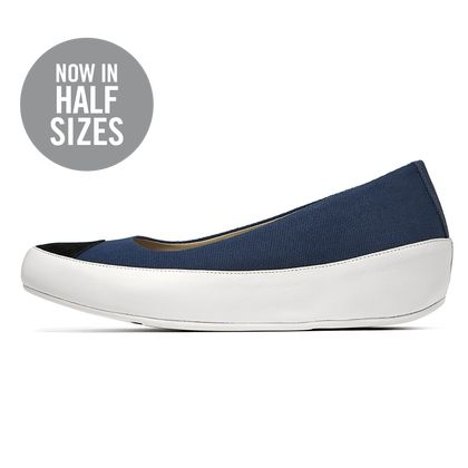 FITFLOP DUE CANVAS SUPERNAVY