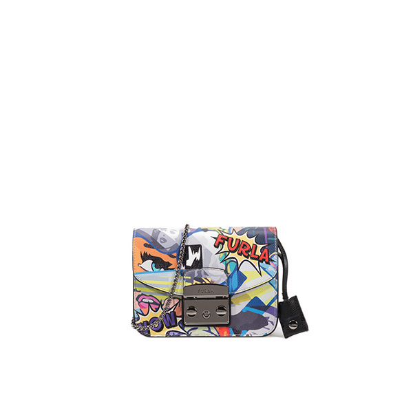 FURLA METROPOLIS CROSSBODY MULTICOLOR