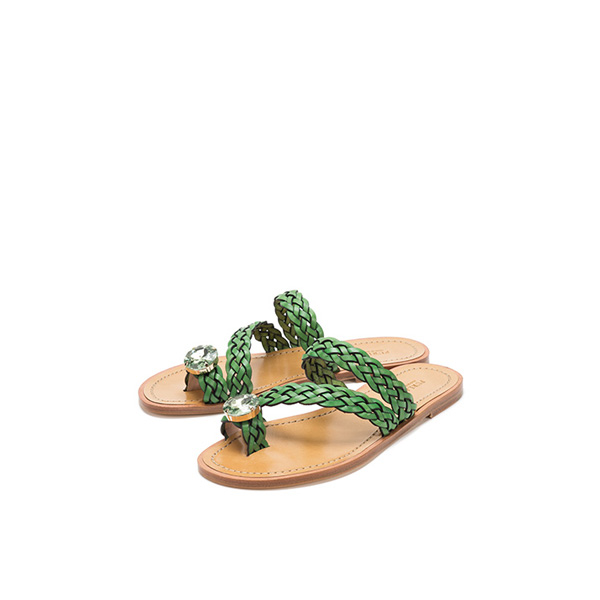 FURLA MINNIE SANDALS LIME