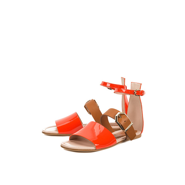 FURLA TWIST SANDALS HIBISCUS