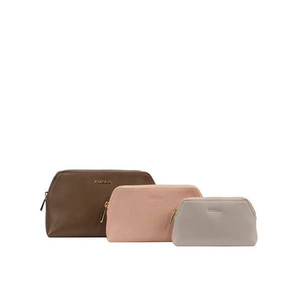 FURLA ISABELLE COSMETIC CASE SET COLOR DAINO