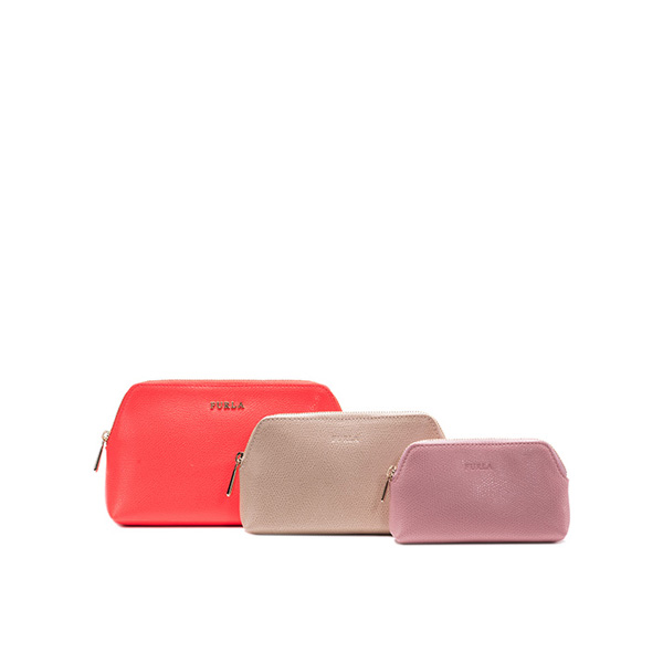FURLA ISABELLE COSMETIC CASE SET COLOR NEON