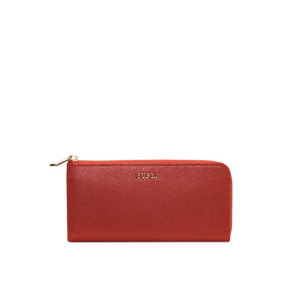 FURLA BABYLON ZIP AROUND MAPLE