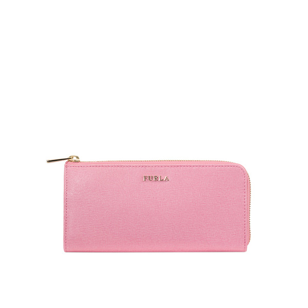 FURLA BABYLON ZIP AROUND WINTER ROSE