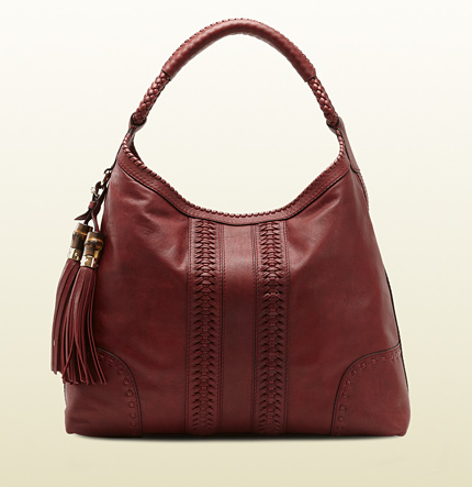 Gucci green carpet challenge for gucci leather hobo