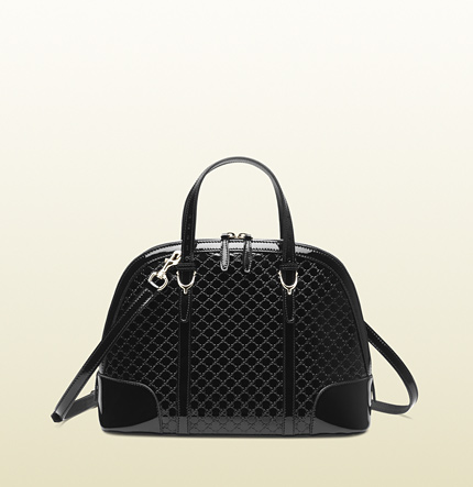 Gucci gucci nice microguccissima leather top handle bag