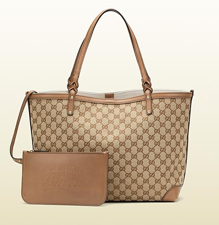 Gucci gucci craft original GG canvas tote