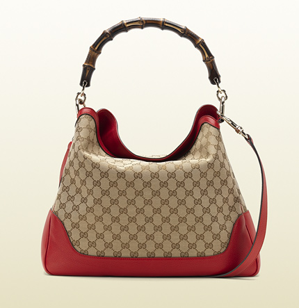 Gucci diana bamboo shoulder bag