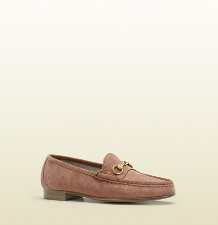 Gucci 1953 horsebit loafer in suede