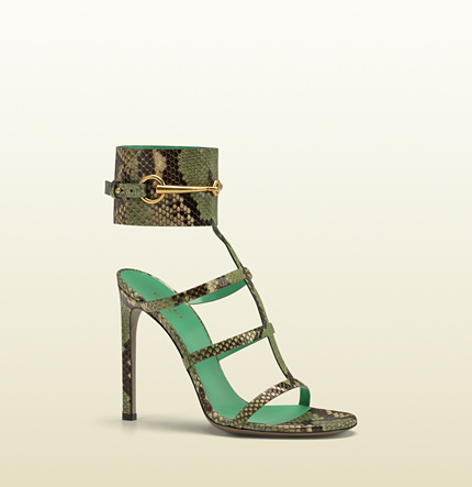 Gucci ankle-strap high heel sandal