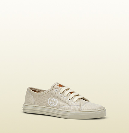 Gucci california dream natural canvas sneaker