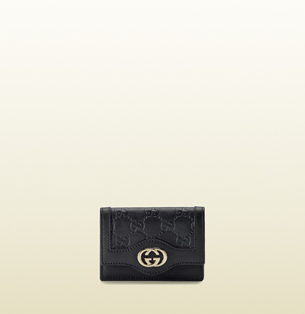 Gucci interlocking G card case