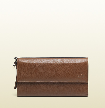 Gucci bree leather continental wallet