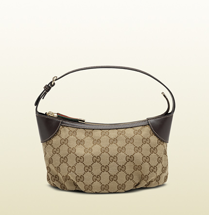 Gucci strap cosmetic case