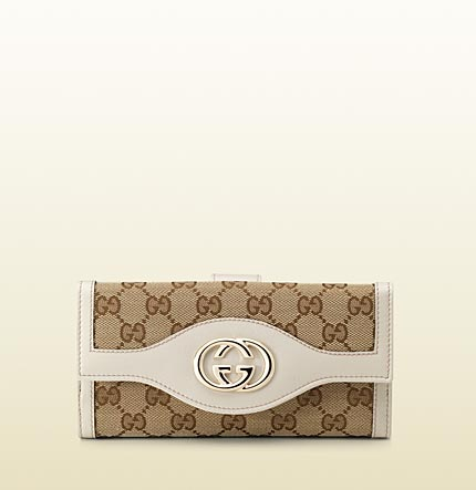 Gucci interlocking G continental wallet