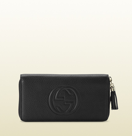Gucci soho zip around wallet