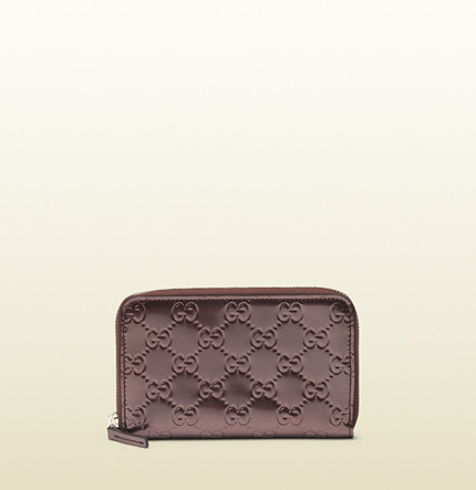 Gucci zip around iPhone case