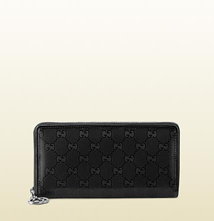 Gucci interlocking G zip around wallet