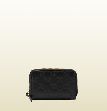 Gucci zip around card case