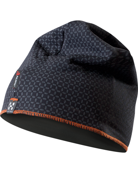 HAGLOFS FANATIC PRINT CAP black/charcoal