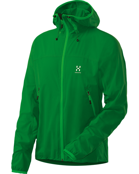 HAGLOFS MEN BOA HOOD emerald