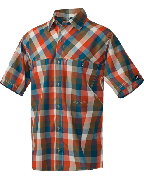 HAGLOFS MEN HAKU SS SHIRT sunset/bracken
