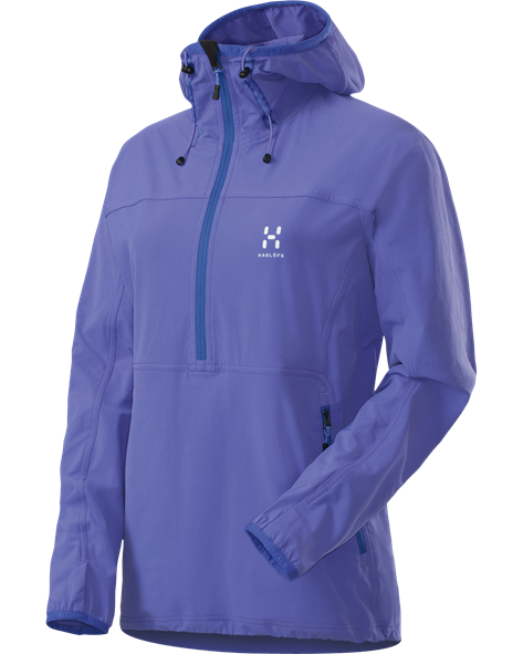 HAGLOFS WOMEN KRAIT Q HOOD flash lilac