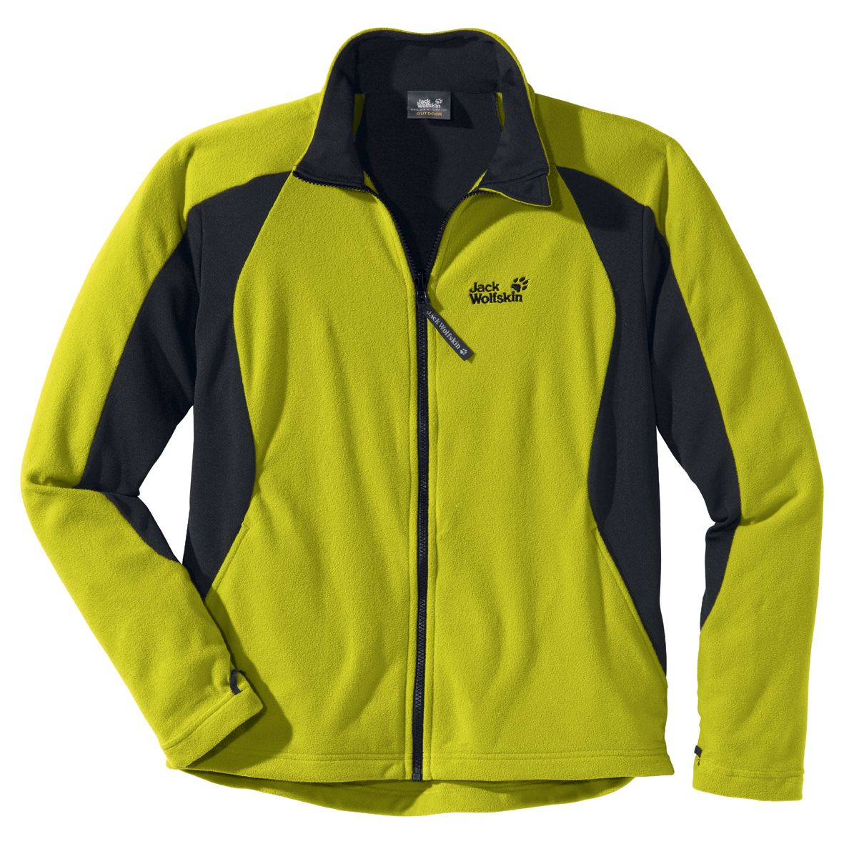 JACK WOLFSKIN MEN ENDURANCE FULL ZIP WILD LIME