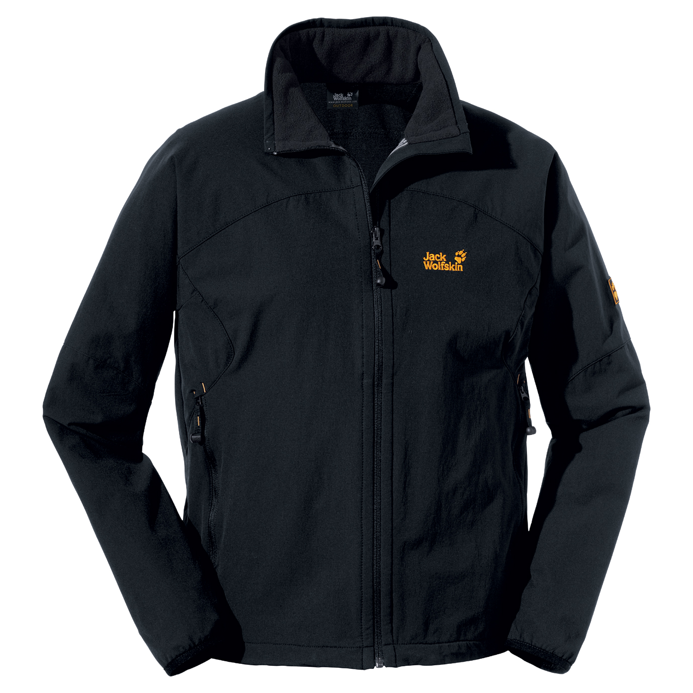 JACK WOLFSKIN MEN ACTIVATE JACKET BLACK