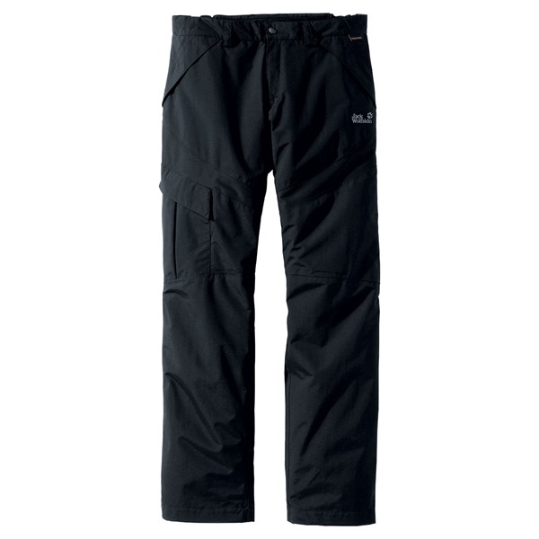 JACK WOLFSKIN MEN ALL TERRAIN PANTS BLACK