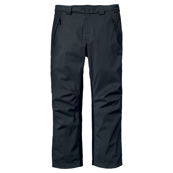 JACK WOLFSKIN MEN ACTIVATE STORM PANTS SHADOW BLACK