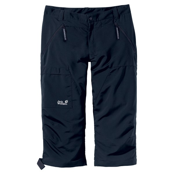 JACK WOLFSKIN MEN FAST TRACK PANTS PHANTOM
