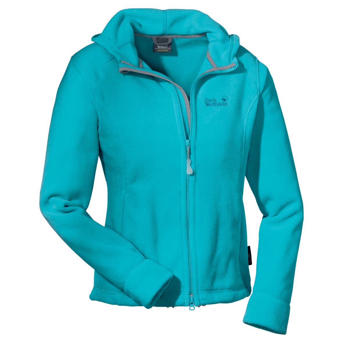 JACK WOLFSKIN WOMEN MOON RIVER JACKET LAKE BLUE