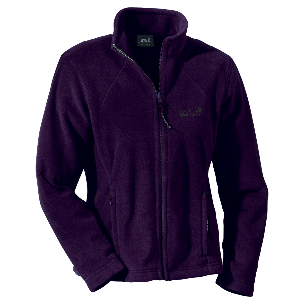 JACK WOLFSKIN WOMEN MOONRISE JACKET AUBERGINE