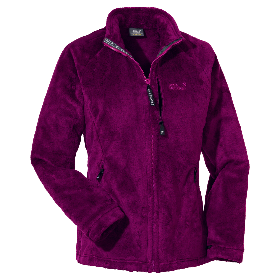 JACK WOLFSKIN WOMEN SMOOTH RESORT PURPLE DAWN