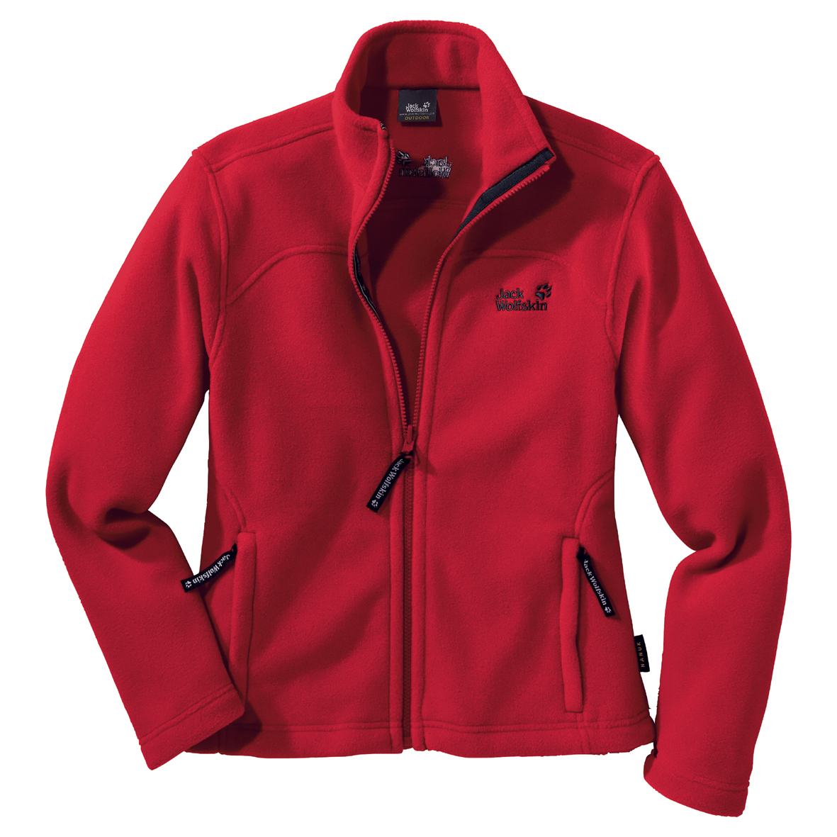 JACK WOLFSKIN WOMEN VERTIGO JACKET TANGO RED