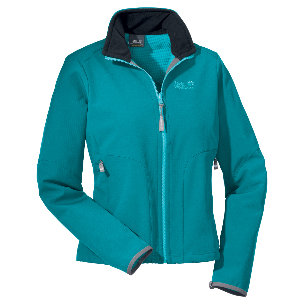 JACK WOLFSKIN WOMEN HYPERSCOPE JACKET GLACIER BLUE