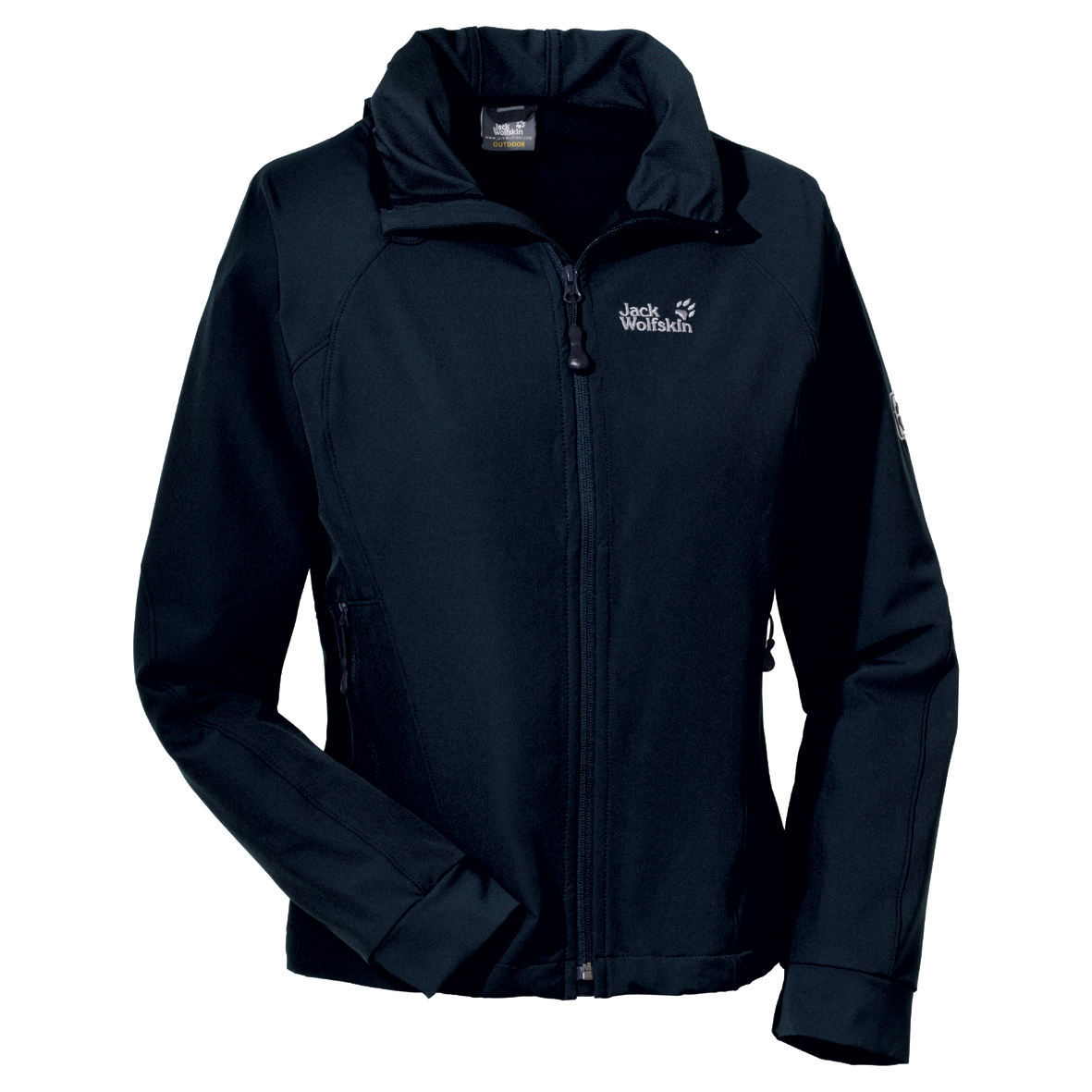 JACK WOLFSKIN WOMEN TURBULENCE JACKET BLUE GRAPHITE
