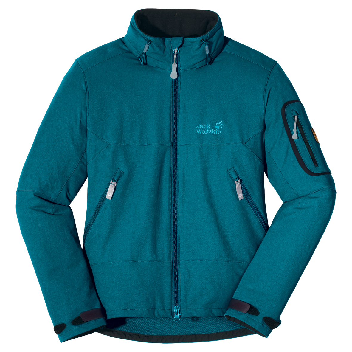 JACK WOLFSKIN WOMEN MUDDY PASS JACKET BALTIC BLUE