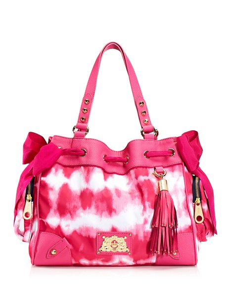 JUICY COUTURE NYLON DAYDREAMER Tie Dye Pink
