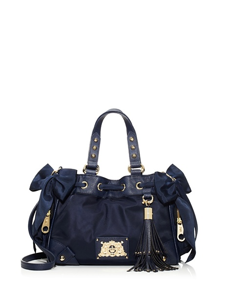 JUICY COUTURE MALIBU NYLON MINI DAYDREAMER Royal Navy