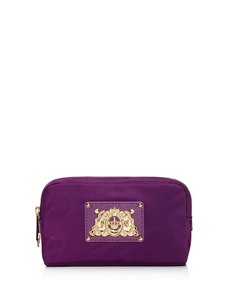 JUICY COUTURE CASE NYLON COSMETIC Crushed Berry