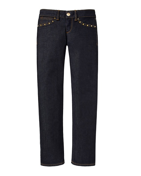 JUICY COUTURE JEAN GIRLS STUDDED SKINNY Twilight