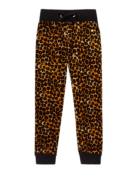 JUICY COUTURE PANT GIRLS ORIGINAL IN LEOPARD VELOUR