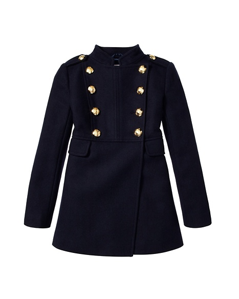 JUICY COUTURE COAT GIRLS MILITARY Regal