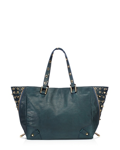 JUICY COUTURE TOTE BEDFORD LEATHER Teal